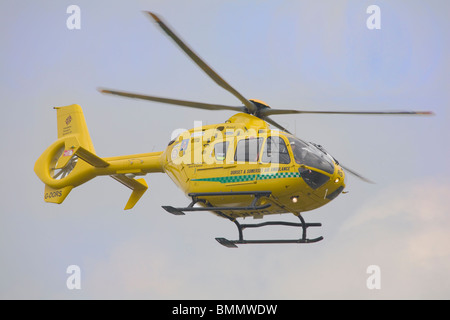 Dorset and Somerset Air Ambulance helicopter (Eurocopter EC 135 T2+) - Stock Photo