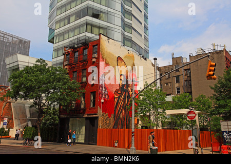 The cooper square hotel nyc stock photo royalty free for Coopers east village