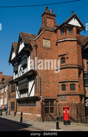 Rochester, High Street, Eastgate House - Stock Photo