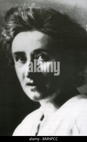 ROSA LUXEMBURG  - Polish-born Marxist theorist (1871-1919) - Stock Photo