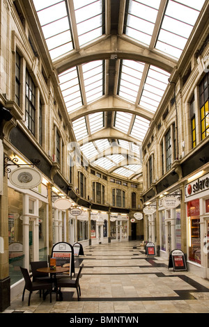 The Royal Arcade shopping centre at Worthing in West Sussex, England. - Stock Photo