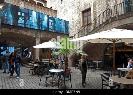 Textile and Fashion Museum, Barcelona - Stock Photo