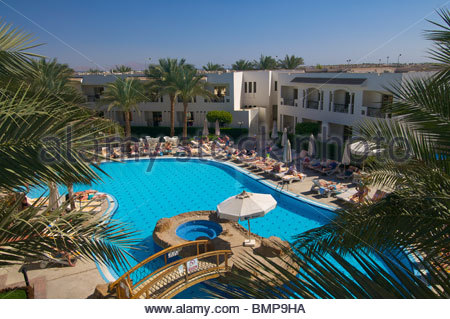 Three Corners St George Hotel Ras um el Sid Sharm el Sheik Egypt - Stock Photo