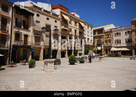 Plaza de Andalucia, Ubeda, Jaen Province, Andalucia, Spain, Western Europe. - Stock Photo