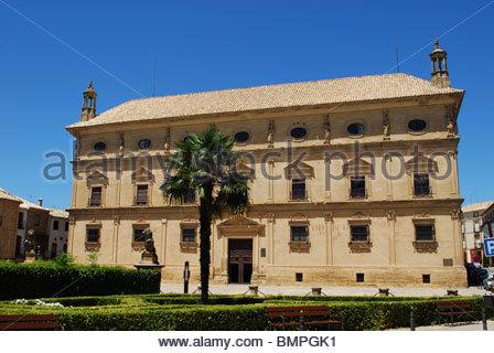 Palacio de las Cadenas,used as the town hall (Ayuntamiento), Ubeda, Jaen Province, Andalucia, Spain, Western Europe. - Stock Photo