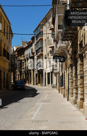 Inner city street, Ubeda, Jaen Province, Andalucia, Spain, Western Europe. - Stock Photo