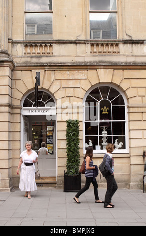 The Highgrove shop in Milsom Street Bath owned by Prince Charles and the Duchy of Cornwall opened June 2010 - Stock Photo