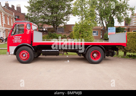 AEC classic lorry - Stock Photo