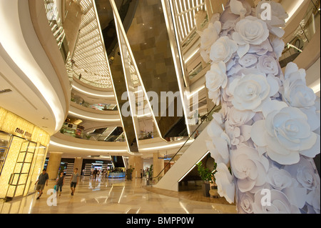 The ION Shopping Centre in Orchard Road - Stock Photo