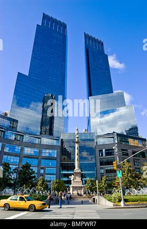 Time Warner Center, Columbus Circle, New York City. - Stock Photo