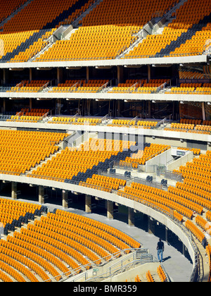 The Soccer City Stadium In Johannesburg Has Undergone A Major Upgrade For The 2010 Tournament, With A New Design - Stock Photo