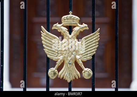 Crete Chania Greek Church Emblem - Stock Photo