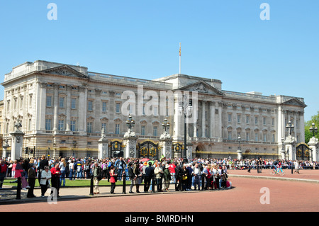 Buckingham Palace, London, official residence of HM, The Queen - Stock Photo