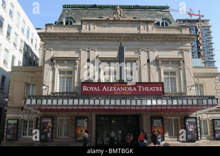 Toronto's Royal Alexandra Theatre opened in 1907. It was purchased in 1963 by Edwin Mirvish, who saved it from demolition. - Stock Photo