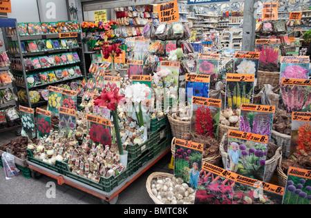 Flower Shop Amsterdam - Stock Photo