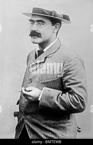 Undated photo of British author and poet Rudyard Kipling (1865 - 1936) - winner of the Nobel Prize in Literature - Stock Photo