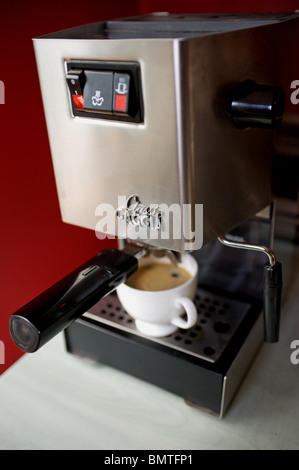 Classic Gaggia expresso coffee machine in the kitchen of a home in ...
