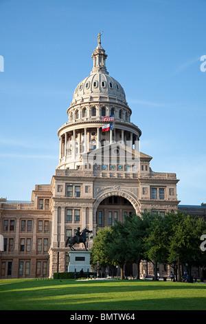 Texas State Capitol Building Austin Texas USA - Stock Photo