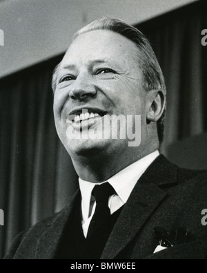 EDWARD HEATH - UK Conservative Prime Minister in 1966 - Stock Photo