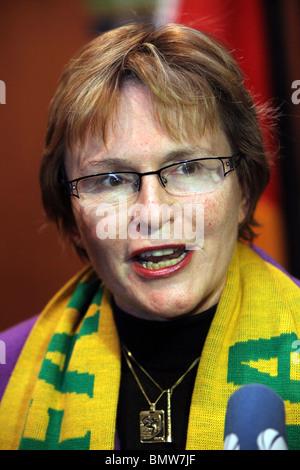 Western Cape Premier HELEN ZILLE, Cape Town - Stock Photo
