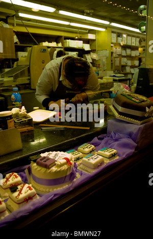 wedding cakes oxford covered market cake shop covered market in oxford uk europe stock 25215
