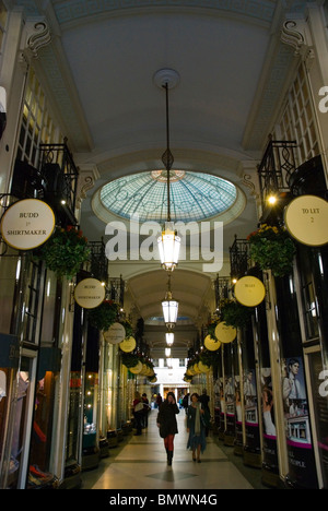Piccadilly Arcade central London England UK - Stock Photo
