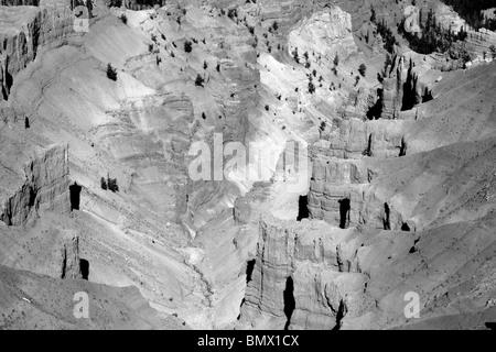 deep desert canyon - Stock Photo