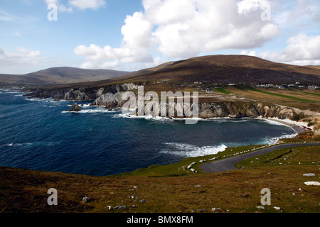 The Atlantic drive coast,Achill island,Co Mayo,western Ireland,Eire. - Stock Photo