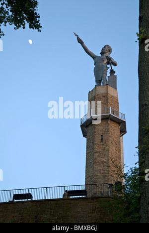 The Vulcan Statue at Vulcan Park & Museum, Birmingham, Alabama, USA - Stock Photo