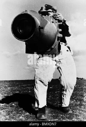 German Luftwaffe Aerial Reconnaissance Camera 1940 - Stock Photo
