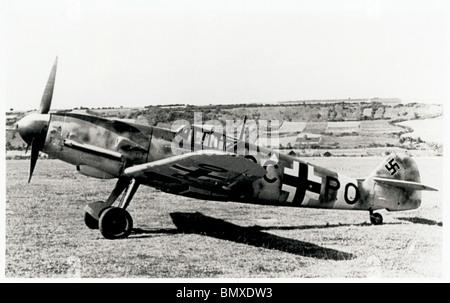 Focke-Wulf Luftwaffe WW2 Aeroplane - Stock Photo