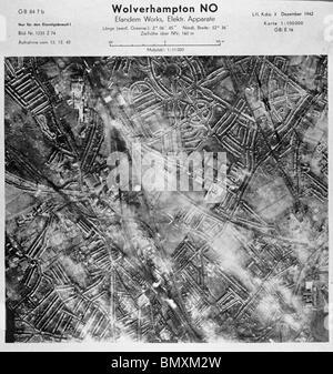 Wolverhampton - Midlands 1942 Industrial Works - Stock Photo