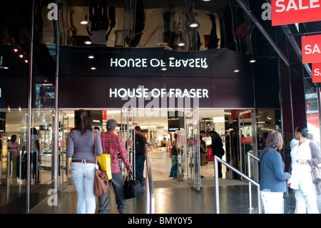 House of Fraser shop on Oxford Street, London, UK - Stock Photo