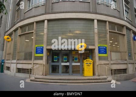 Post office 3rd arrondissement Le Marais district central Paris France Europe - Stock Photo