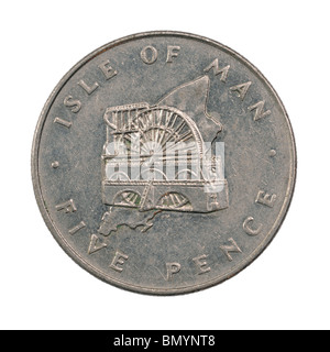 Isle of Man Five Pence coin