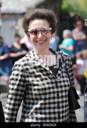 Princess Anne. Her Royal Highness Anne, Princess Royal HRH Anne - Stock Photo