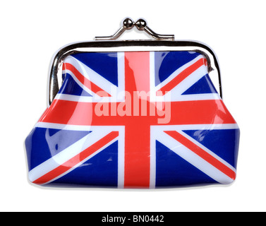 Union Jack purse - Stock Photo