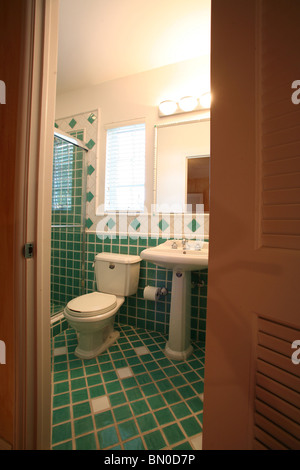 Domestic Bathroom - Stock Photo