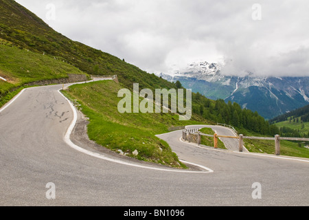 Splugen pass, Canton Grigioni, Switzerland - Stock Photo