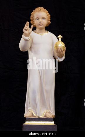 Infant jesus of prague- Das Prager Jesuskind- El niño jesus de Praga, Prague - Stock Photo