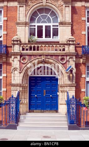 Bickenhall Mansions, Bickenhall Street, London, England, UK, Europe - Stock Photo