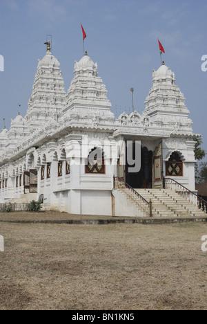 Dighori Temple, Pitrudham of Shankaracharya, with largest crystal Shivalinga in Asia. - Stock Photo