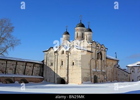 Church of the Transfiguration (1595), Kirillo-Belozersky Monastery, Kirillov, Vologda region, Russia - Stock Photo