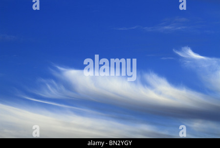 Beautiful cloud formations at sunset over County Limerick, Rep of Ireland. - Stock Photo