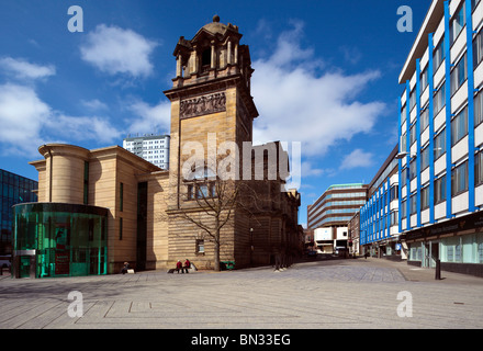 The Laing Art Gallery Newcastle upon Tyne, Tyne and Wear England UK - Stock Photo