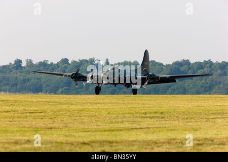 Kent England UK  Boeing B17 Sally B Aeroplane world war two WWII bomber American - Stock Photo