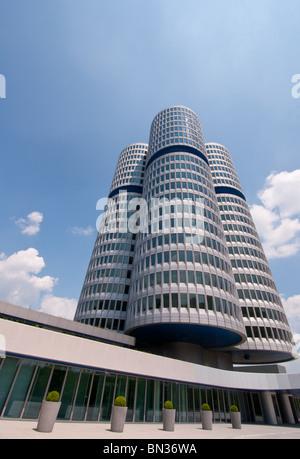 BMW Headquarters in Munich, Germany. - Stock Photo
