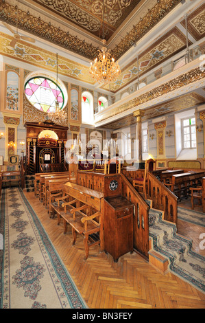 Interior shot of an empty synagogue, Tbilisi, Georgia - Stock Photo