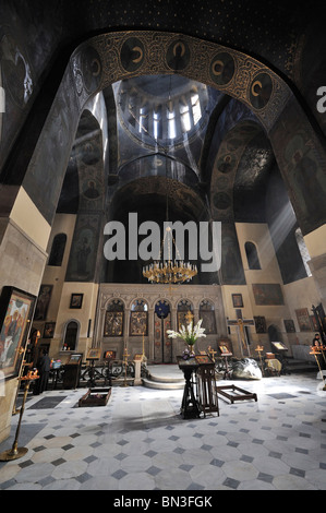 Interior view of Sioni Cathedral, Tbilisi, Georgia - Stock Photo