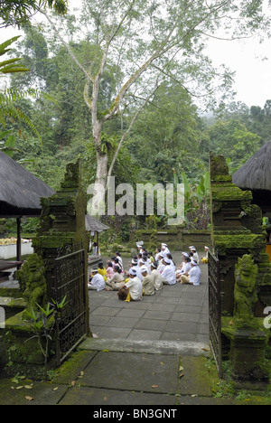 Pura Luhur Batukau, Bali, Indonesia, Asia - Stock Photo